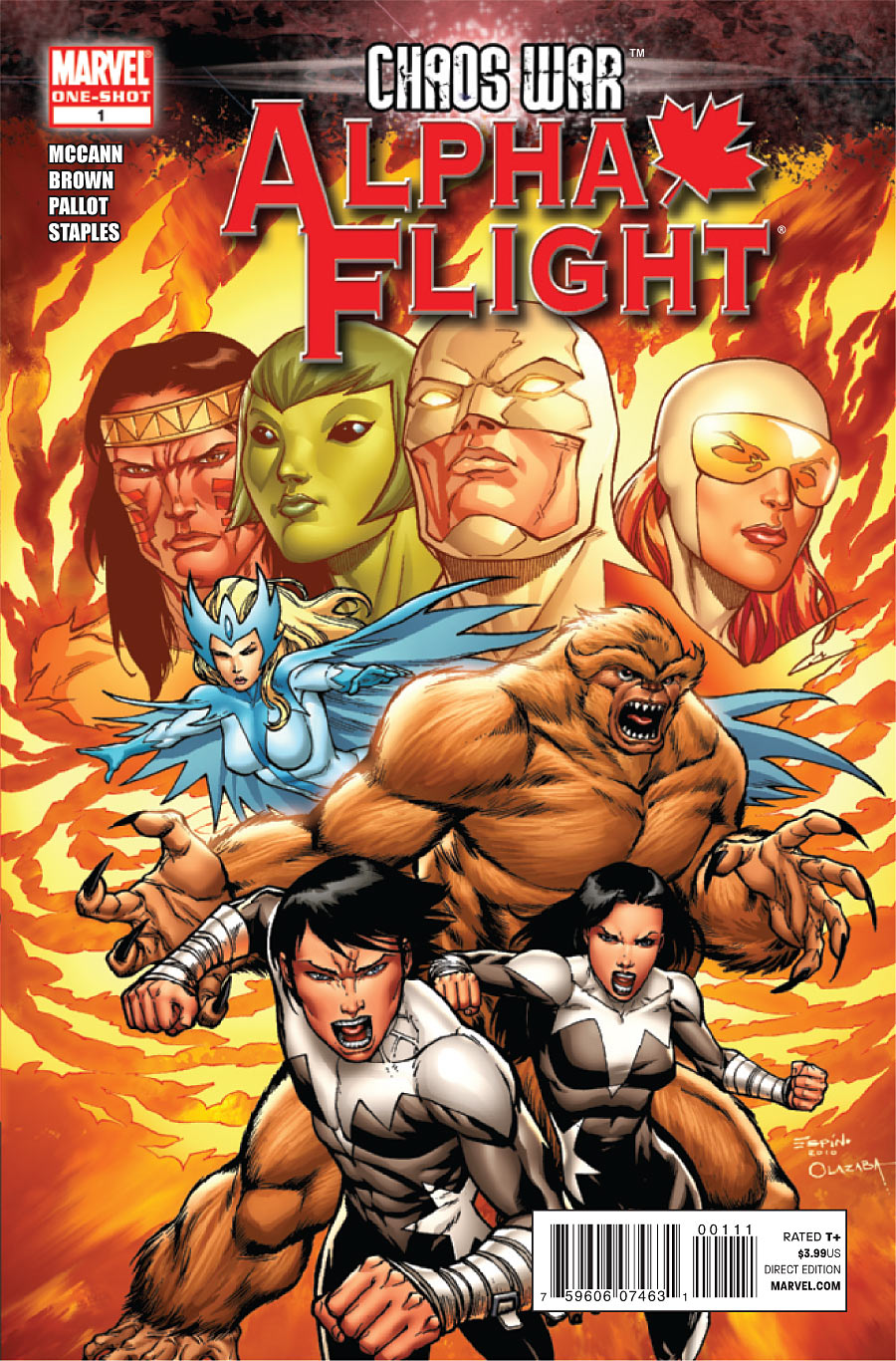 Chaos War:Alpha Flight Cover