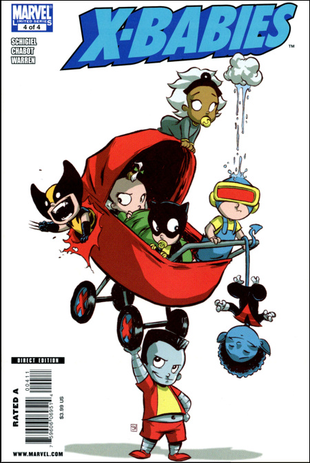 X-Babies 4 Cover